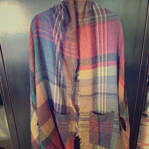 Sweaters - Multi colour wrap